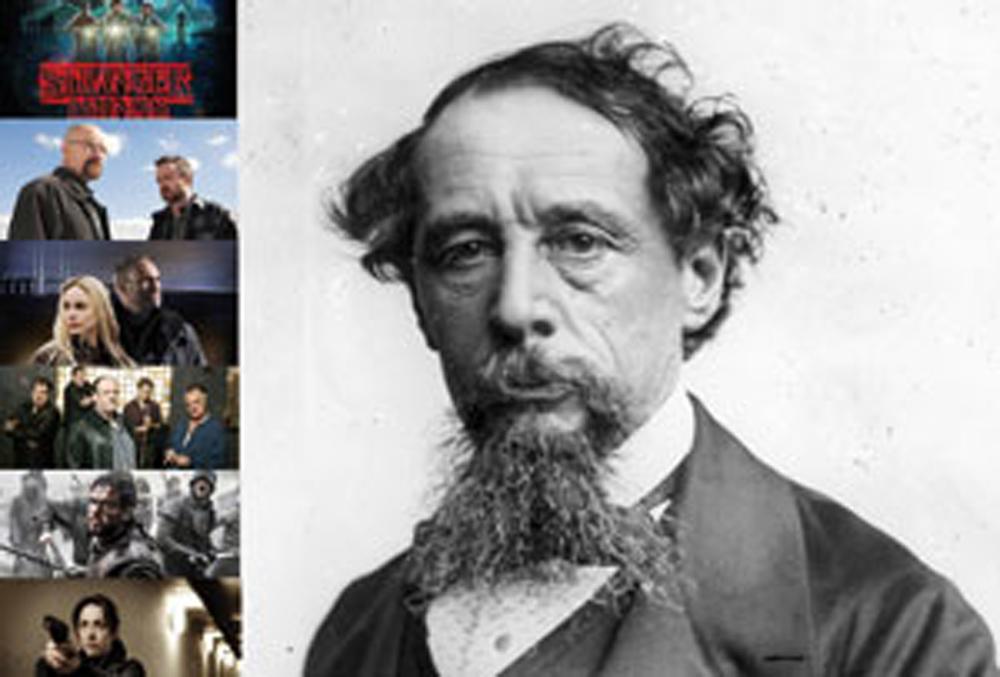 Charles Dickens  bizirik balego, telesail gidoilari izango litzateke