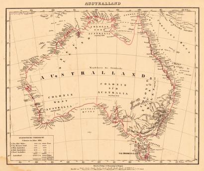 Ezagutu baino lehen jarri zioten izena Australiari