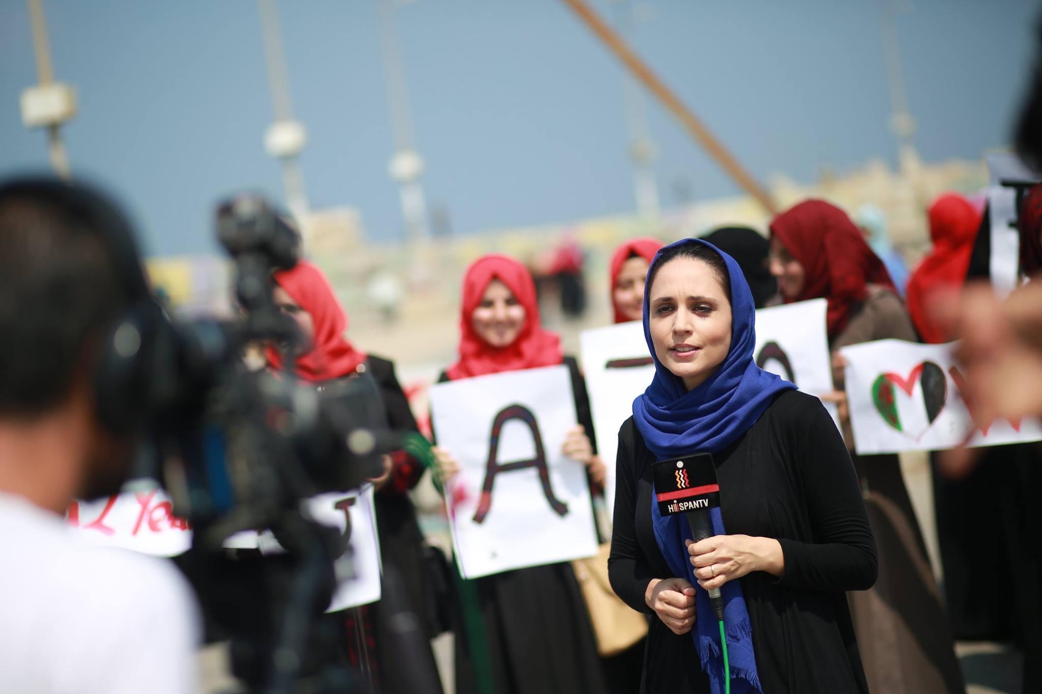 """""""Palestinako botere-guneak emakumeen esku baleude, egoerak hobera egingo luke nabarmen"""""""