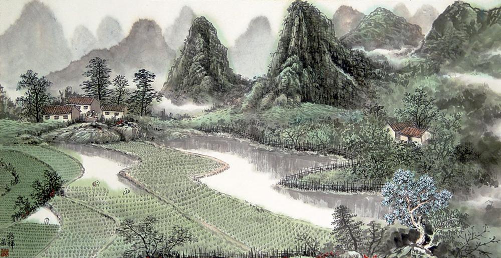 (Irudia: Chinese paintings)