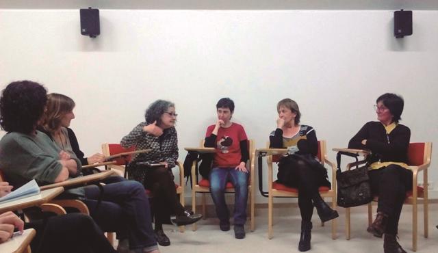 Euskaraz ari diren irakurle taldeez gain, aurki sahararren kanpamenduetan abian jarriko duten irakurle talde feministaz hitz egin zuten.