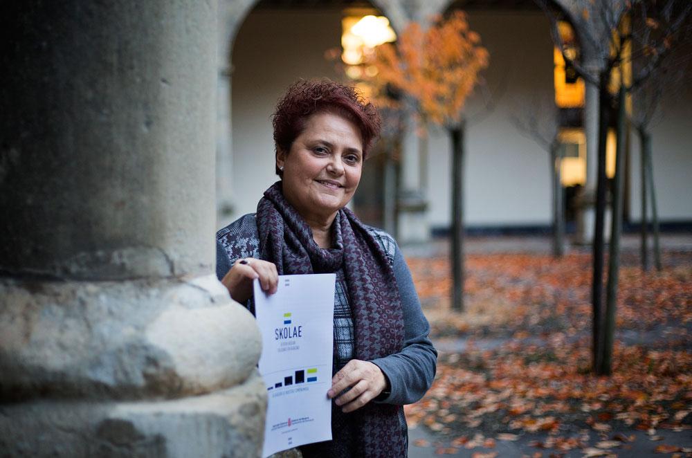 Pilar Mayo, Skolae programaren koordinatzailea. (Arg.: Josu Santesteban)