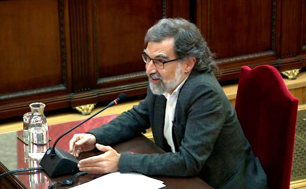 Jordi Cuixar Espainiako Auzitegi Gorenaren epaiketaren une batean.