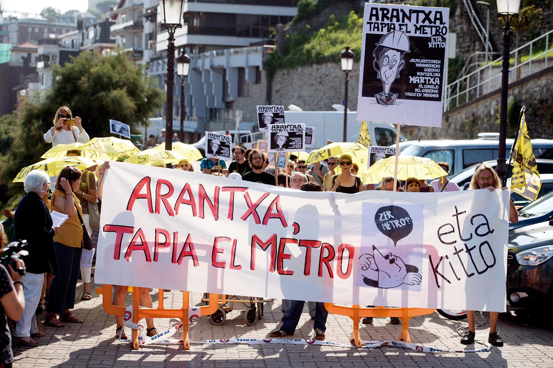 Satorralaia Donostiako protesta mugimendu nekaezinetako bat bilakatu da. Irudian, artxiboko argazki bat. (Juan Carlos Ruiz / Foku)