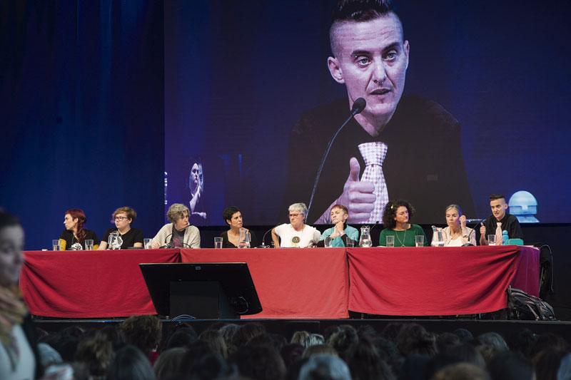 Autodefentsa eta justizia feminista ukan dituzte hizpide Euskal herriko V. Jardunaldi Feministetan.