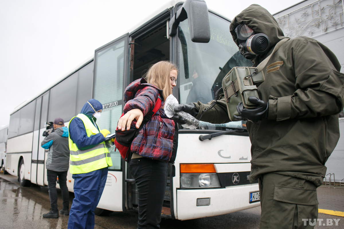 Lituaniak leherketa nuklear baten simulakroa egin du, Belarusfeed atariak erakutsi moduan.