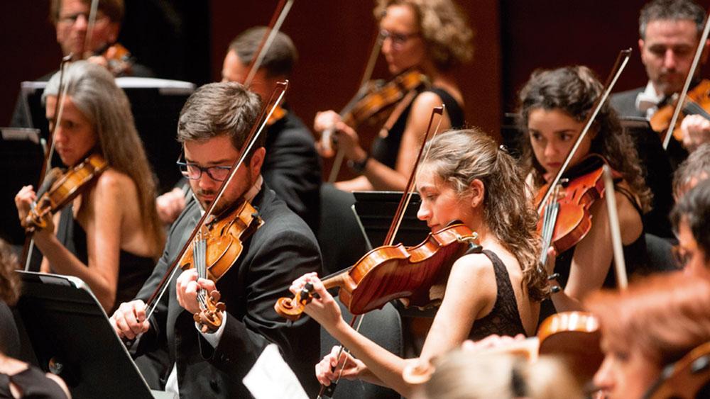 Musika Hamabostaldian izango da Euskadiko Orkestra. Abuztuaren 8an joko du Kursaal Auditorioan, Donostian. Argazkia: Quincenamusical.eus.