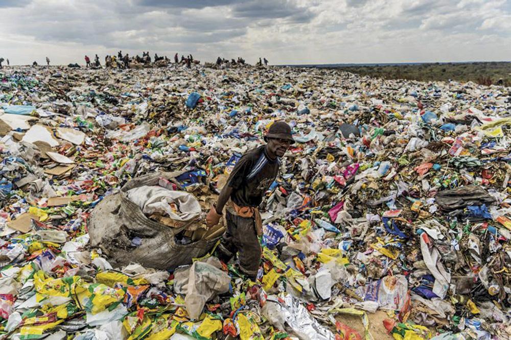 Plastikoa, gehienetan birziklatu gabea: Gaur egun, mundu mailako plastikozko hondakinen %9a bakarrik da birziklatua (