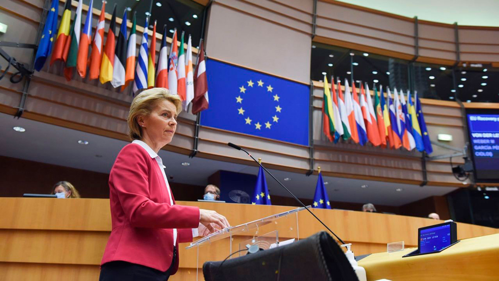 Ursula Von der Leyenek 2020ko maiatzean aurkeztu zuen Next Generation EU errekuperazio plana. (Argazkia: Europako Batzordea)