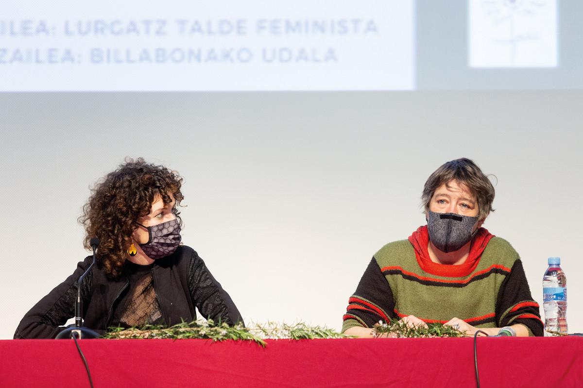 Ainhoa Narbaiza eta Marta Luxan