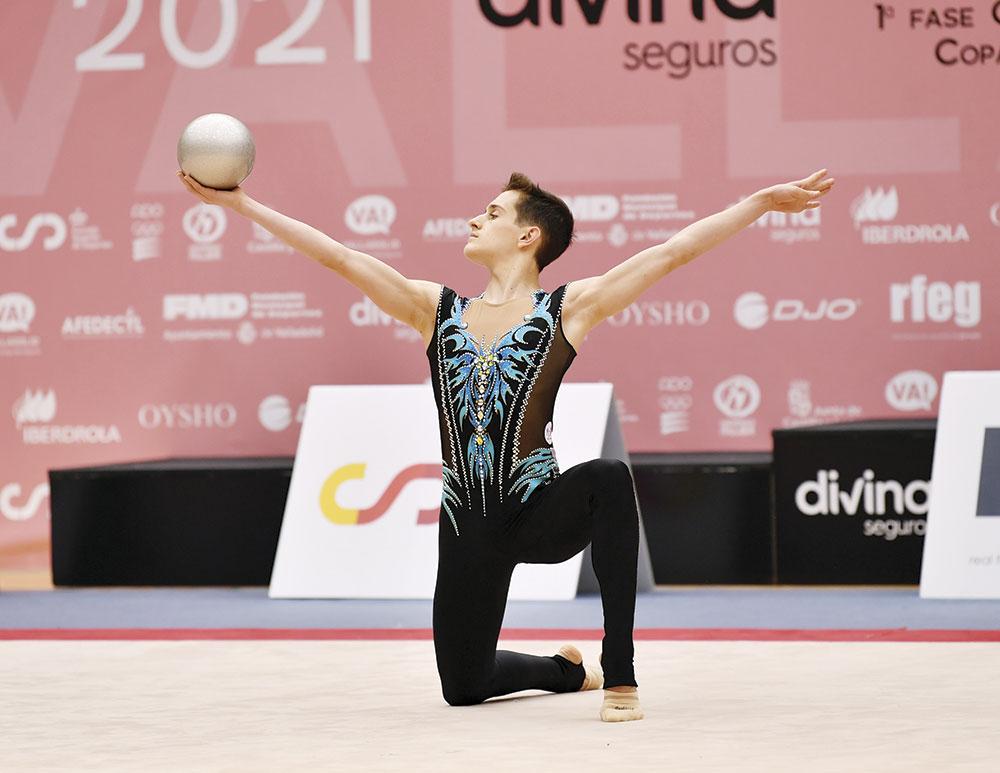 Eneko Lambea, ekainean Valladoliden, Espainiako Kopan. Euskadik zilarra lortu zuen gizonezkoetan. / Argazkia: © www.fotosporteventos.com