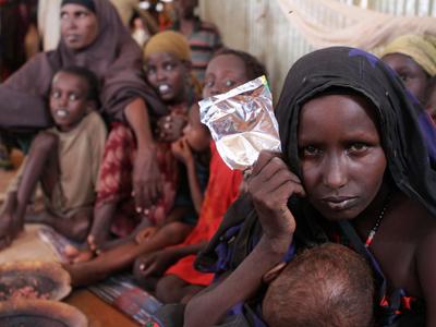 Somaliako errefuxiatua, Etiopian.