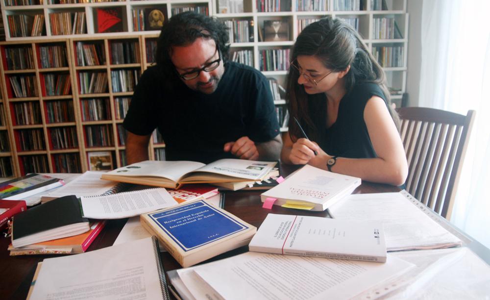 Ainara Legardon y David G. Aristegui: foto de Rafa Rodrigo