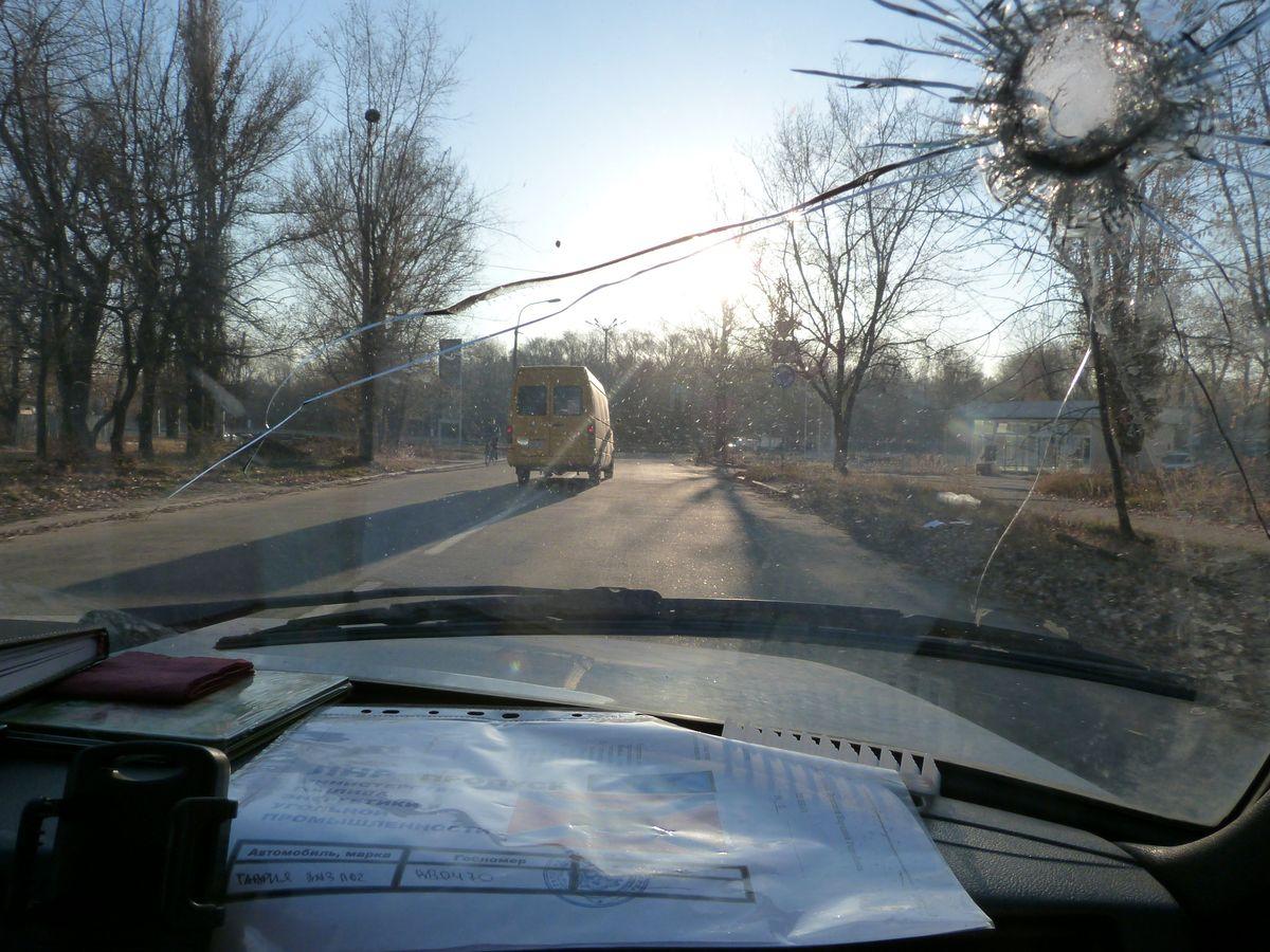 Novorrisijako parlamentari baten autoa tirokatua